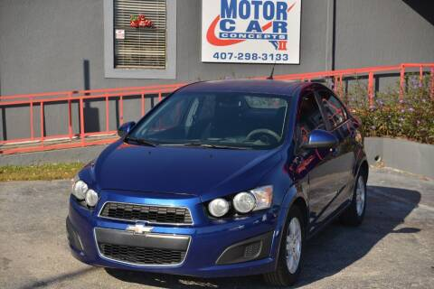 2013 Chevrolet Sonic for sale at Motor Car Concepts II - Kirkman Location in Orlando FL