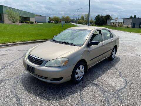 2005 Toyota Corolla for sale at JE Autoworks LLC in Willoughby OH
