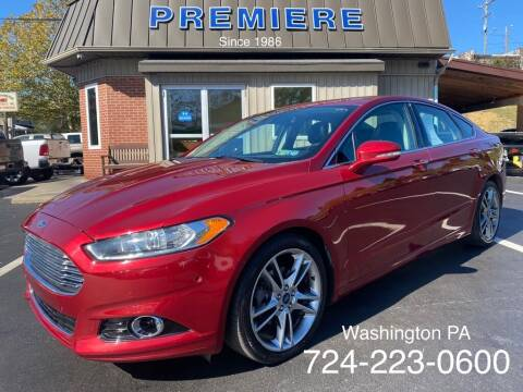 2013 Ford Fusion for sale at Premiere Auto Sales in Washington PA