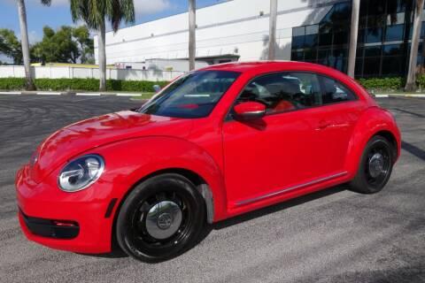 2013 Volkswagen Beetle for sale at SR Motorsport in Pompano Beach FL