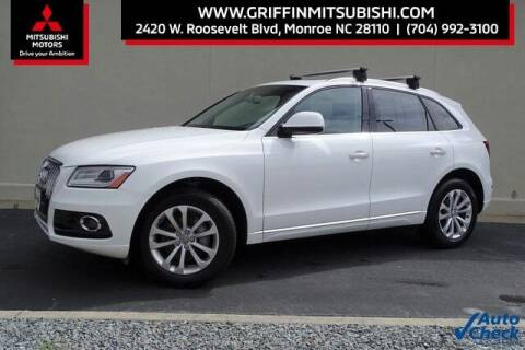 2016 Audi Q5 for sale at Griffin Mitsubishi in Monroe NC
