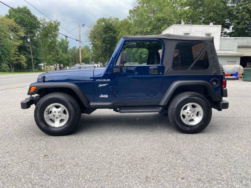 2002 Jeep Wrangler for sale at DND AUTO GROUP in Belvidere NJ