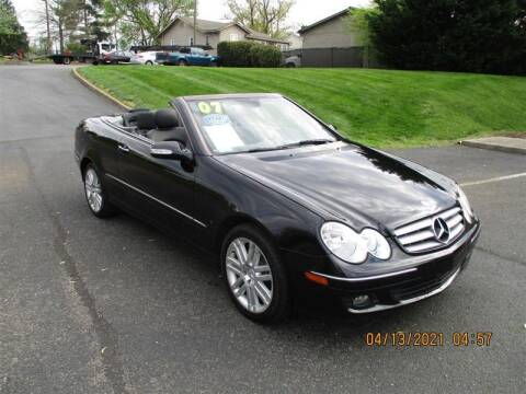 2007 Mercedes-Benz CLK for sale at Euro Asian Cars in Knoxville TN