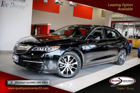 2015 Acura TLX for sale at Quality Auto Center of Springfield in Springfield NJ