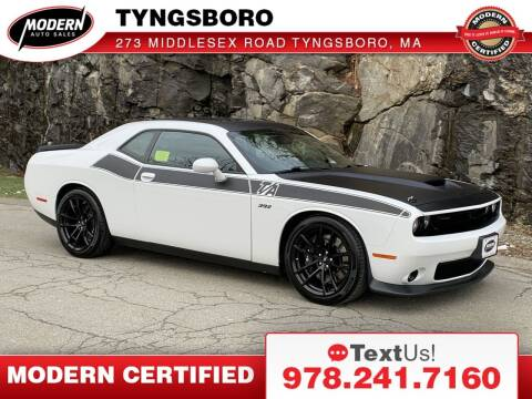 2018 Dodge Challenger for sale at Modern Auto Sales in Tyngsboro MA