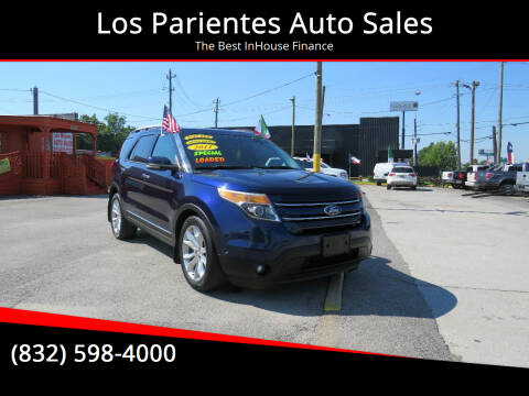 2011 Ford Explorer for sale at Los Parientes Auto Sales in Houston TX