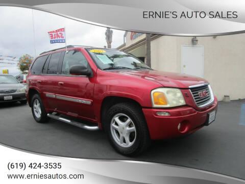 2002 GMC Envoy for sale at Ernie's Auto Sales in Chula Vista CA