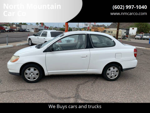2001 Toyota ECHO for sale at North Mountain Car Co in Phoenix AZ