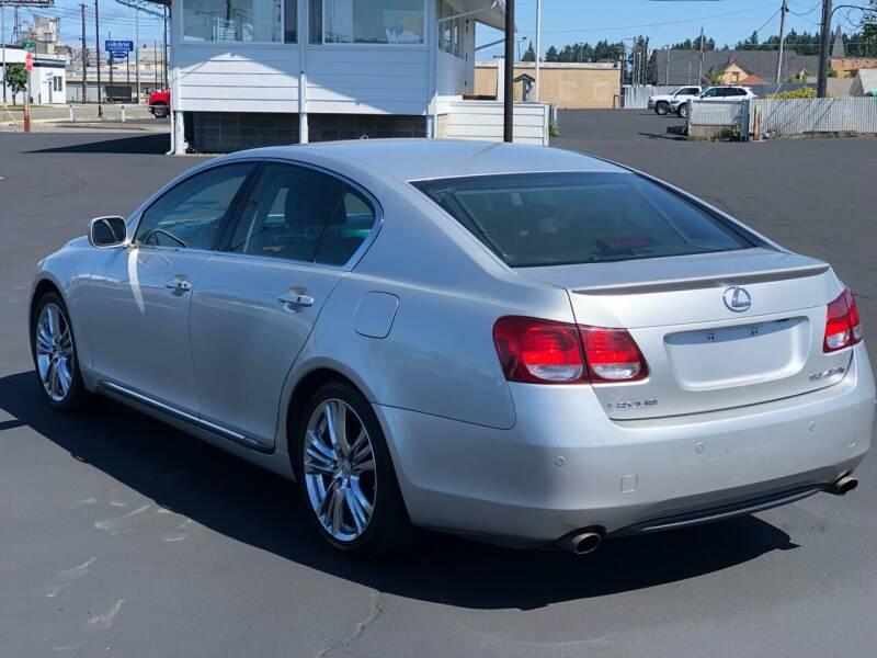 2007 Lexus GS 450h for sale at Washington Auto Sales in Tacoma WA
