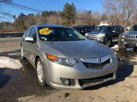 2009 Acura TSX for sale at Royal Crest Motors in Haverhill MA