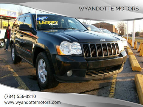 2009 Jeep Grand Cherokee for sale at Wyandotte Motors in Wyandotte MI
