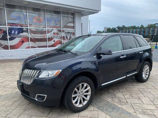 2014 Lincoln MKX for sale at Tim Short Auto Mall in Corbin KY