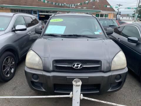 2007 Hyundai Tucson for sale at Park Avenue Auto Lot Inc in Linden NJ