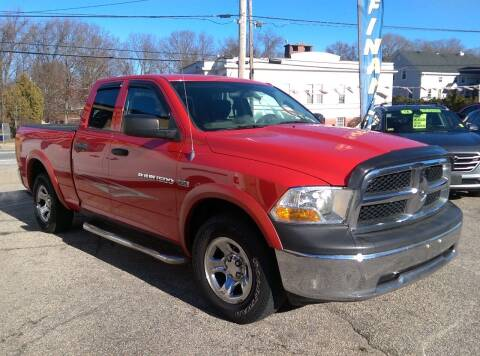 2012 RAM Ram Pickup 1500 for sale at Porcelli Auto Sales in West Warwick RI