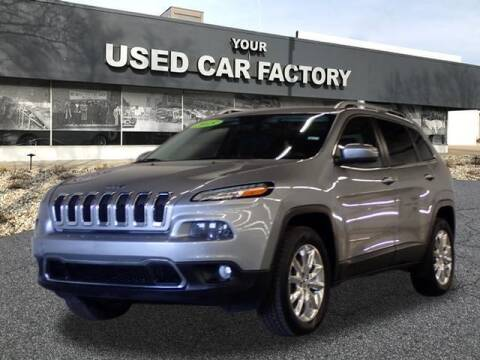 2015 Jeep Cherokee for sale at JOELSCARZ.COM in Flushing MI