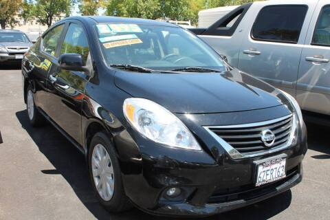 2013 Nissan Versa for sale at EXPRESS CREDIT MOTORS in San Jose CA