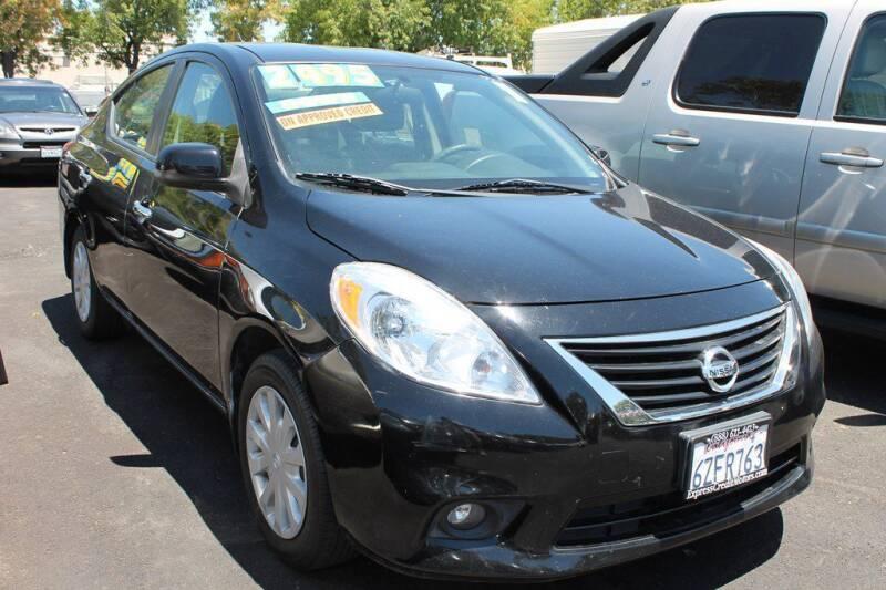 2013 Nissan Versa for sale at EXPRESS CREDIT MOTORS in San Jose CA