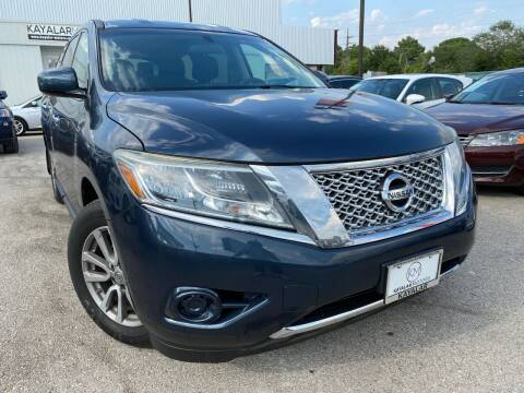 2015 Nissan Pathfinder for sale at KAYALAR MOTORS in Houston TX
