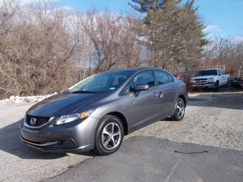 2015 Honda Civic for sale at Manchester Motorsports in Goffstown NH