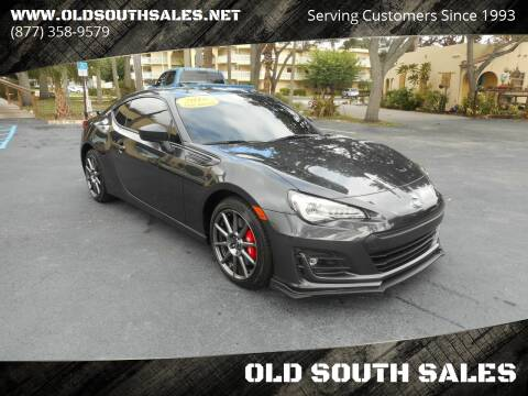 2018 Subaru BRZ for sale at OLD SOUTH SALES in Vero Beach FL