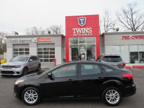 2018 Ford Focus for sale at Twins Auto Sales Inc in Detroit MI