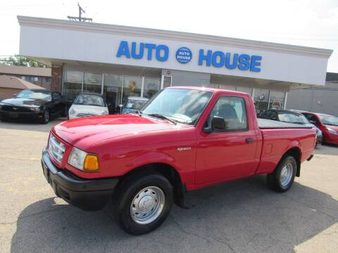 2003 Ford Ranger for sale at Auto House Motors in Downers Grove IL