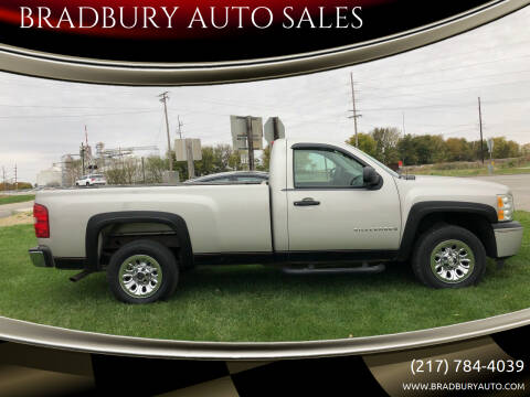 2009 Chevrolet Silverado 1500 for sale at BRADBURY AUTO SALES in Gibson City IL