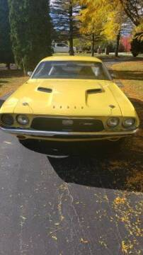 1972 Dodge Challenger for sale at Classic Car Deals in Cadillac MI