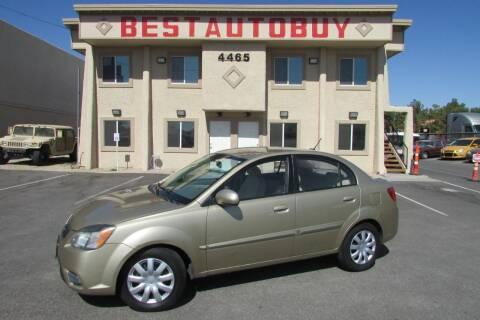 2010 Kia Rio for sale at Best Auto Buy in Las Vegas NV