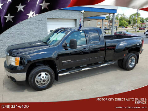 2013 GMC Sierra 3500HD for sale at Motor City Direct Auto Sales & Service in Pontiac MI