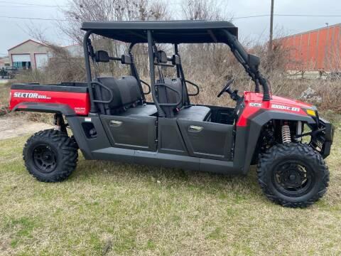 2020 HISUN SECTOR 1000 CREW W/EPS for sale at JENTSCH MOTORS in Hearne TX