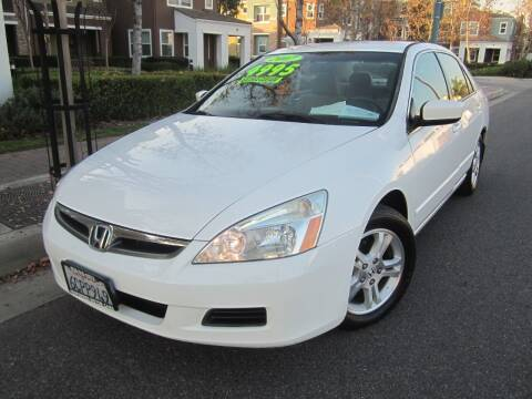 2007 Honda Accord for sale at PREFERRED MOTOR CARS in Covina CA