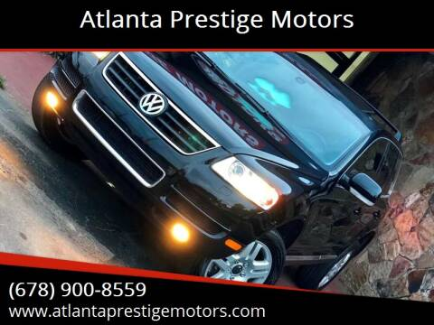 2004 Volkswagen Touareg for sale at Atlanta Prestige Motors in Decatur GA