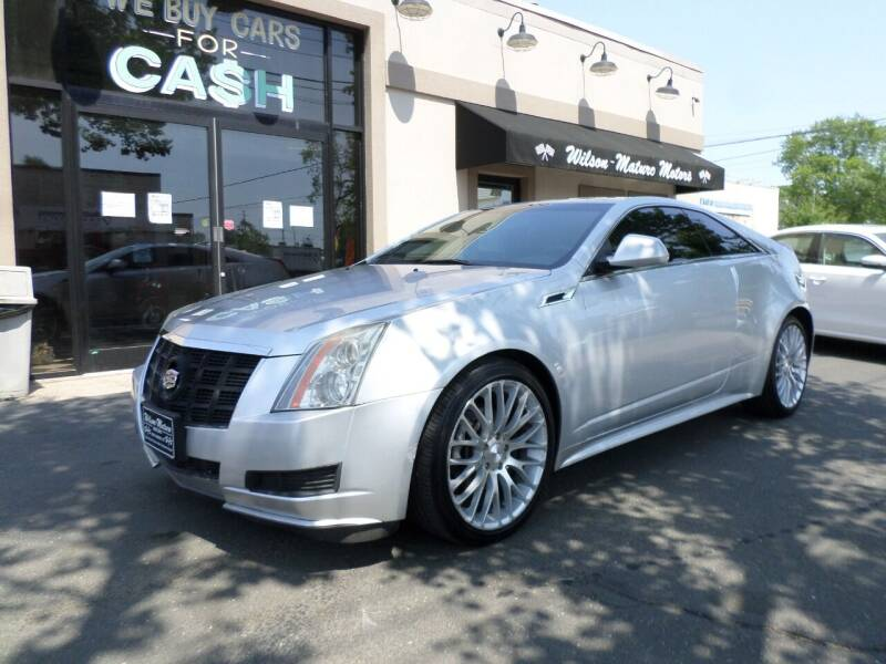 2013 Cadillac CTS for sale at Wilson-Maturo Motors in New Haven Ct CT