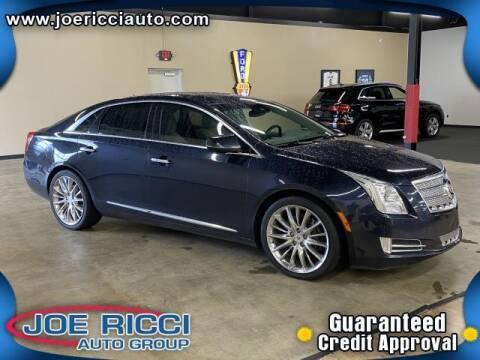 2013 Cadillac XTS for sale at JOE RICCI AUTOMOTIVE in Clinton Township MI
