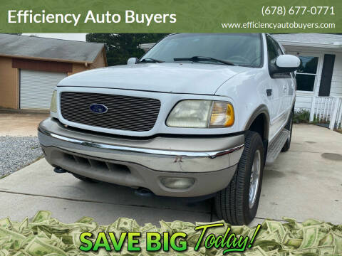 2002 Ford Expedition for sale at Efficiency Auto Buyers in Milton GA