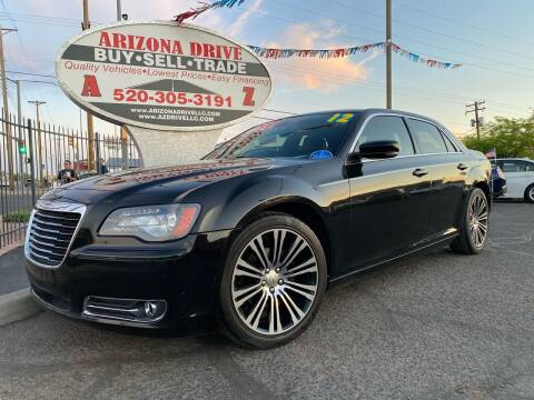 2012 Chrysler 300 for sale at Arizona Drive LLC in Tucson AZ