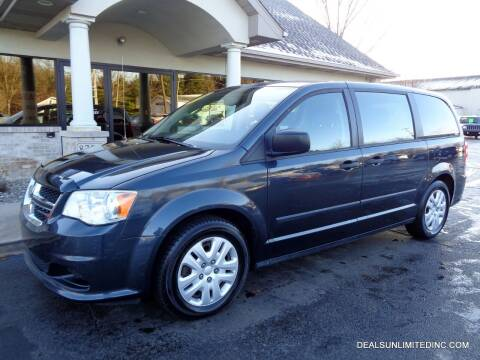 2014 Dodge Grand Caravan for sale at DEALS UNLIMITED INC in Portage MI