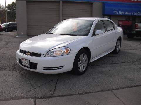2011 Chevrolet Impala for sale at 1st Choice Auto Inc in Green Bay WI