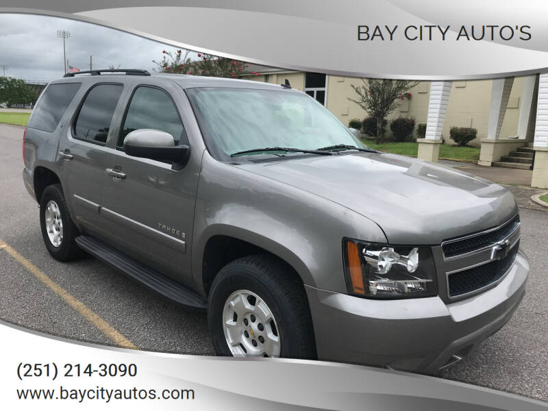 2008 Chevrolet Tahoe for sale at Bay City Auto's in Mobile AL