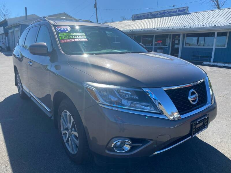 2014 Nissan Pathfinder for sale at HACKETT & SONS LLC in Nelson PA
