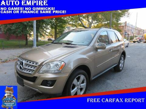 2009 Mercedes-Benz M-Class for sale at Auto Empire in Brooklyn NY