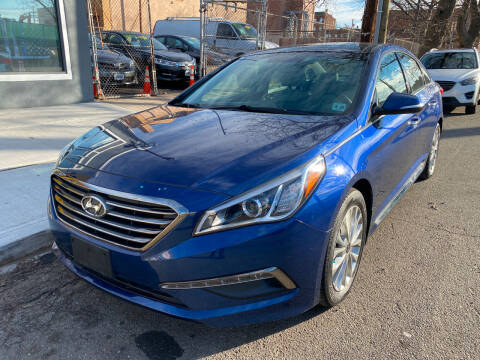 2015 Hyundai Sonata for sale at DEALS ON WHEELS in Newark NJ
