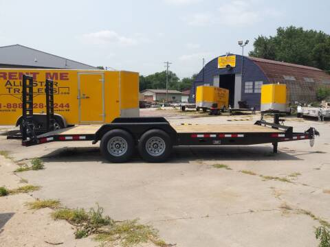 2021 Eagle 20 FOOT FLATBED for sale at ALL STAR TRAILERS Flatbeds in , NE