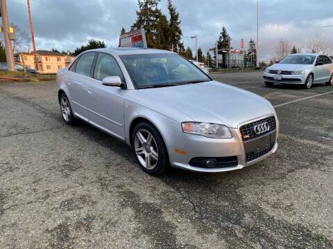 2008 Audi A4 for sale at KARMA AUTO SALES in Federal Way WA