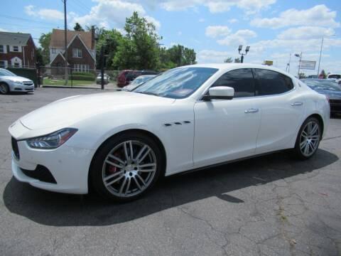 2014 Maserati Ghibli for sale at Bi-Rite Auto Sales in Clinton Township MI