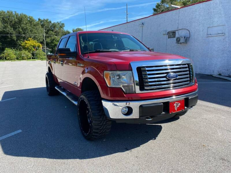 2011 Ford F-150 for sale at LUXURY AUTO MALL in Tampa FL