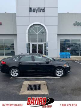 2018 Ford Fusion Hybrid for sale at Bayird Truck Center in Paragould AR
