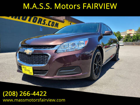 2015 Chevrolet Malibu for sale at M.A.S.S. Motors - Fairview in Boise ID