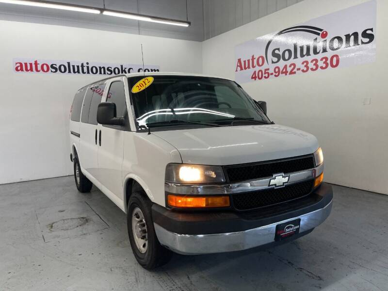 2012 Chevrolet Express Passenger for sale at Auto Solutions in Warr Acres OK